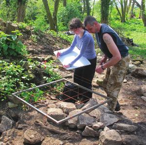 Injured military personnel and veterans have helped excavate a mysterious Roman building complex as part of an archaeology project which aims to help their recovery