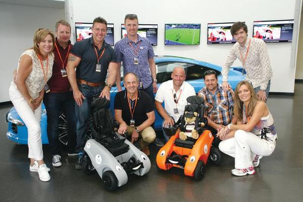 Local disabled children to enjoy life in the fast lane following bumper charity day at Silverstone
