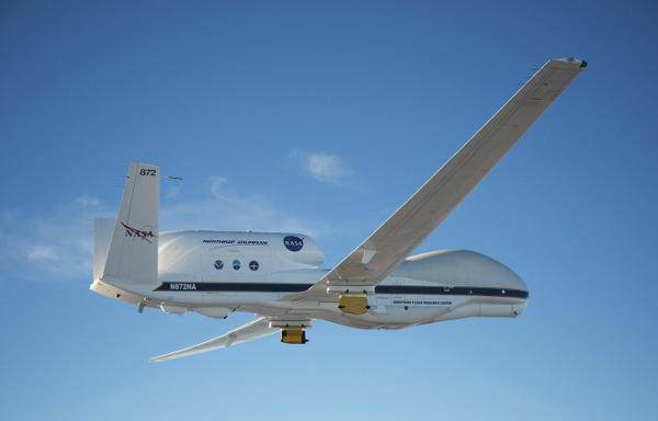UK Climate Instruments Take A Ride On NASA's Global Hawk