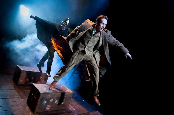 Spiffing good fun with The 39 Steps
