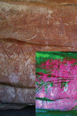Australia's earliest contact rock art discovered