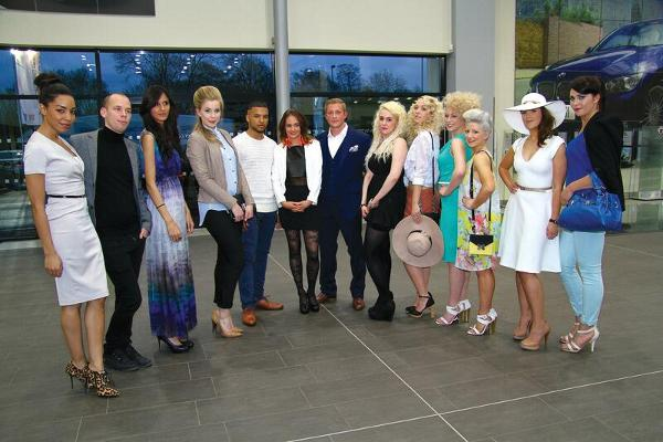 Ladies Charity evening held in aid of Rainbows at Sytner Leicester
