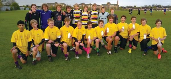 Kirby & West team up with local rugby club to help get them to the top of their game