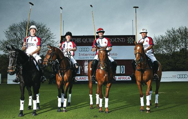 Audi polo international series for 2012