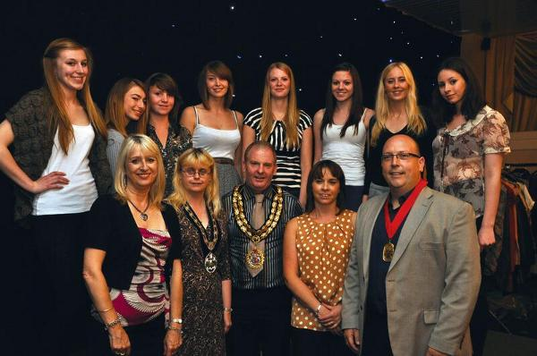 The Mayor of Hinckley Hosts Charity Fashion Show at Hinckley Golf Club
