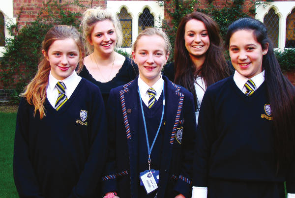Speaking out at Our Lady's Convent School