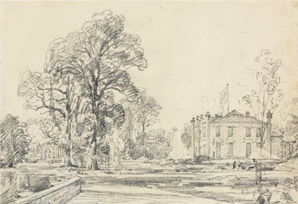 Lost Constable Drawings Found In Detroit Suburb To Sell At Bonhams