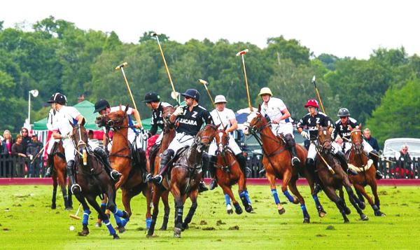 Team Zacara beat Team El Ramanso in a thrilling match at the Cartier Queen's Cup in June