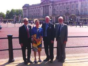 Inter Care CelebrateQueens award recognition at Buckingham Palace