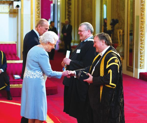 HM The Queen honours work of University of Leicester