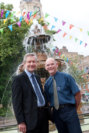 City Mayor, Sir Peter Soulsby and Blue Badge Guide