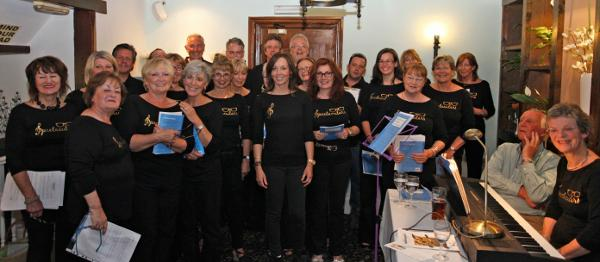 Spectacular debut as new community choir hits the right note!