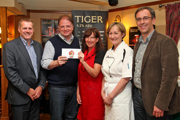 Tracey Hunt has been crowned Everards Tiger Hero Recipe Master Chef for 2012