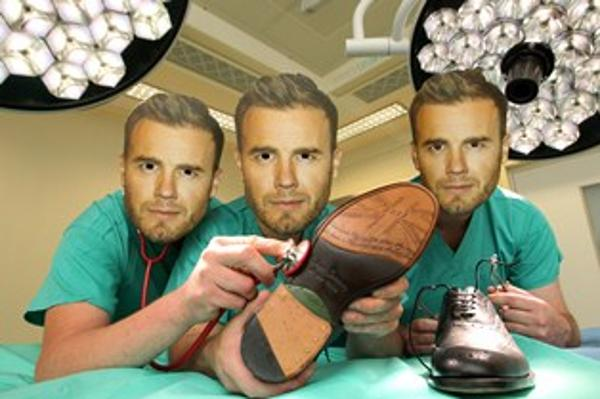 Gary Barlow donates Diamond Jubilee Shoes to The Horder Centre auction