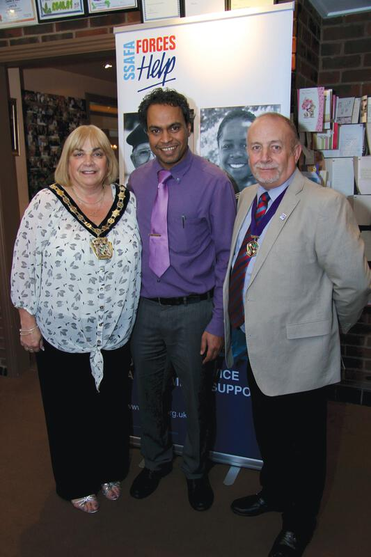 A curry night in aid of ssafa the chosen charity of the for Cuisine of india wigston