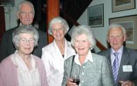 Sir. Lyonel Tollemache, Lady Tollemache, Mrs. Michael Tumbull, Mrs. heather Sandell and Terrance higgins OBE