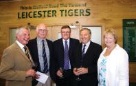 Brian Hall, Bob Roweu, Stuart Farmer, Mike and Maggie Harrison