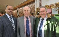 Shahid Sheikh, Paul Heywood, Mike Siddall from Leicestershire Cricket Club