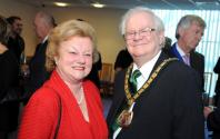 Jennifer Lady Gretton & Chairman of Leicestershire County Council- Peter Lewis