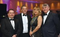 Ian Callaghan- PBI Performance Products Dave Webb- Chief Fire Officer, Rosita Page- Vice Cha' Leics.County,Council, Tim Ottridge - Lion Apparel