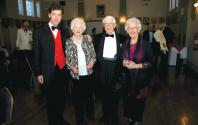 Dan Mason, Ann Brooks Lt. Col. & Mrs D wood