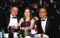 David Gilmore, Melanie O'Brien and Vyaj Sanghani