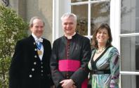 Richard Brooks, Canon Philip O'Reilly, Diana Brooks