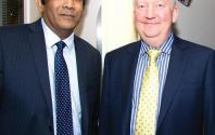 Dr S Vasanthan and Douglas Pattisson Hospital Director
