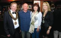 Mayor of Hinckley and Mayors Consort Sue with Tracey & Mick Birchall