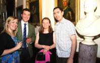 Milly Wastie, Andrew Fyfe, Claire Mansfield and Robert James