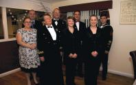 Derick, Ray, Richard, Kieran, Tracey, Lt SCC Kay Adey RNR, Heather & Kelly