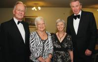 John & Marie Tebbutt with Deborah & David Hartridge