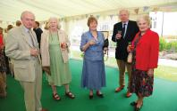 Graham Moore, Lady Samworth, Sally Moore, Robin Heath and Barbara Heath