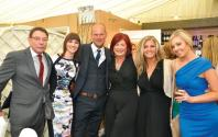 Nick Marshall, Melissa Kettle, Gareth Kettle, Joanne Blackwell, Cherilynn Houston and Hayley Marshall