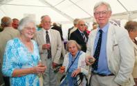 Mr & Mrs T.Y. Cocks with Dr. Jane Meadows and Professor Jack Meadows