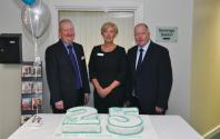 Douglas Pattisson-Hospital Director, Alison Dickinson-Matron, Rob Roger - Chief Exec Officer Spire Healthcare