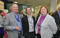 Don Jones, Alessandro Rafini and Alison Goodall