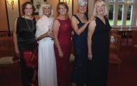 Victoria Edwards, Kathy Edwards, Ann King, Tricia Brooks and Christine Vernon