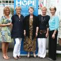 Corrine Green, Barbara North, Wendi Stevens, Maria Tilton & Sharon Mee from the Hope Foundation