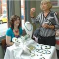 Ali Bartlett of environmentally friendly Art & Jewellery T:07908 586 068