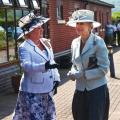 Her Royal Highness Princess Alexandra With Jennifer Lady Gretton