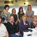 Sue Lomas, Claire Lomas (Guest Speaker), Jennifer Lady Gretton, Jo Kavanagh- Loros, Cherilynne Wassell (Buds Floral Designs) Jeanette Cooper-Hudson, Bernie Smith (Next) Laura Betts (Loros)