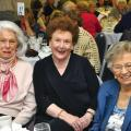 Mary Heggs, Marian Sutton Ann Kind OBE who started Loros Ladies Luncheon in 1981