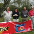 Lee Williams (Banner Batteries), Danny Spillaine, Malcolm Rosher (Comline) and George Walton