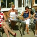 Joy Truszkowski, Sally Anne Ford, Lynne Saunders and Anne Lawson