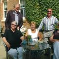 Bill & Elaine Marrs, Ken & Marjorie Pegg and Carole Walton