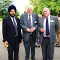 Resham Singh Sandhu, Roger Blackmore and Michael Johnson