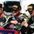 Sylvan Guintoli, Tom Sykes and Eugene Laverty