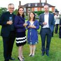 Paul and Rowena Hackwood with Richard and Frances Bettsworth