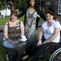 Annie Glover- Founder & Trustee Mehmooda Duke and Michelle Hughes - Trustee